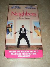 Neighbors VHS John Belushi Dan Aykroyd Out of Print