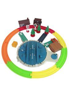 Tomy Thomas Trackmaster Track Toy Bundle Turntable Buildings Tree Track