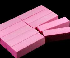 Nail Manicure Pink Buffer Acrylic Art Tips Buffer Buffing Sanding Block Files