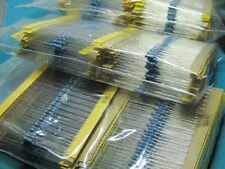 Metal Film Resistors Assortment Kit Set 64 Values (1-10M ohm) 1/4W Newest Hotest