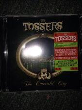 The Tossers 'The emerald city' cd  brand new free postage (b22, B42 X 6) b71