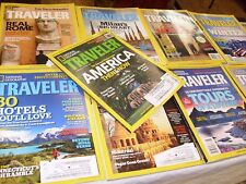 LOT OF 11 NATIONAL GEOGRAPHIC TRAVELER MAGAZINES 2011 , 2010, 2008, Rome Spain