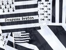 Drapeaux breton embleme de la Bretagne