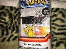 Pokemon XY Pikachu vs Darkrai  figure set