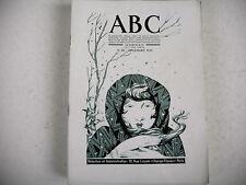 revue ABC artistique littéraire n° 96 -1932 quartier juif J. Chadel crèche