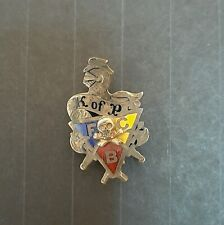 "Vintage Knights of Pythias Pin 5/8"" x 1/2"""