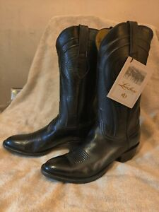 Lucchese Hand Made Goat Skin Men's Western Boots