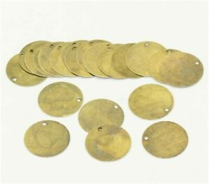 20 Metal Stamping Blanks Tag Charms Antiqued Bronze Charms Hand Stamping