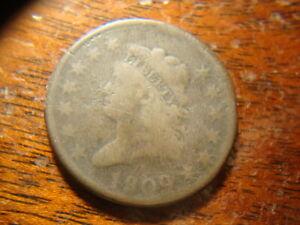 1809 VG Details Classic Head Large Cent  UPX