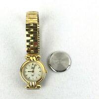 Timex Indiglo Gold Quartz Analog Ladies Watch Water Resistant Steel Back