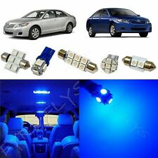 11x Blue LED lights interior package kit for 2007-2011 Toyota Camry TC3B
