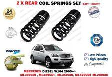 FOR MERCEDES ML280 ML300 ML320 ML350 ML420 CDI 2005-> 2X REAR COIL SPRINGS SET