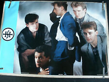 RARE SIMPLE MINDS 1983 VINTAGE ORIGINAL MUSIC POSTER