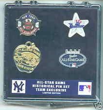 2008 NY Yankees All-Star Games historical 4- pins set v.2 lapel pin