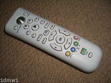 XBOX 360 UFFICIALE MICROSOFT Genuine MINI MEDIA DVD Telecomando in Bianco