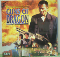 Guns of Dragon (1994) PAL Laser Disc, Hong Kong Gangs Action Film [EE 1045]