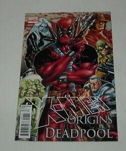 X MEN ORIGINS DEADPOOL # 1 MARVEL COMICS ONE SHOT September 2010 KEY ISSUE