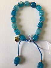 Lola Rose elladora Santorini a righe agata braccialetto, regalo sacchetto, signore gioielli