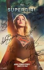 SDCC Signed poster 2019 Supergirl - Cast Signed poster
