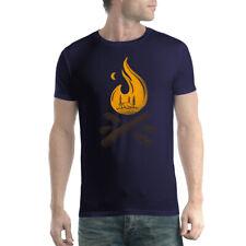 Bonfire Zelt Camp Forest Herren T-Shirt