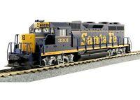 """KATO 373021 HO SCALE EMD GP35 PHASE Ia w/ DB  ATSF  """"Dress Blue"""" 3301 37-3021"""
