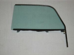 1955 - 1957 Chevy Nomad Pontiac Safari Wagon Door Glass Left Driver Assembled GT