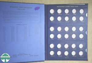 USED 1946-1968 JEFFERSON NICKELS WHITMAN ALBUM #9414 - NO COINS