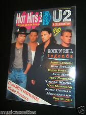 U2 HOT HITS 2 AUSTRALIAN MAGAZINE 1989?