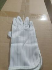 1 Pair Anti-static Anti-skid Gloves ESD PC Computer Electronic cell Work Large