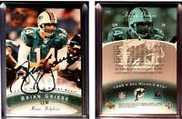 Brian Griese Signed 2003 Sweet Spot #15 Card Miami Dolphins Auto Autograph