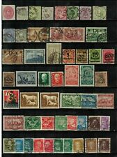 Lot of Germany Old Stamps Used