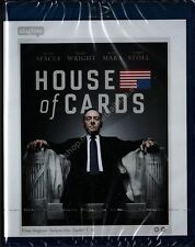 HOUSE OF CARDS STAGIONE 1 - COFANETTO 4 BLU RAY DISC NUOVO