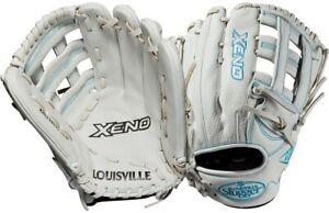 "USED Louisville Slugger WTLXNRF19125 12.5"" Xeno Fastpitch Softball Glove"
