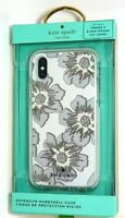 kate spade new york - Slim Clear Case for iPhone X and XS - Hollyhock Protect