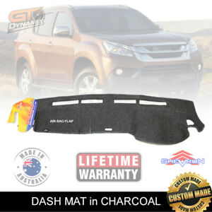 DASH MAT for ISUZU MU-X LS-U LS-T LS-M MUX SEP/2013-2019 CHARCOAL DM1282