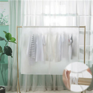 Clear Quality Clothes Protective Waterproof Available Garment Rail Cover-10 Size