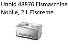UNOLD Nobile Eismaschine 48876