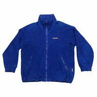 Berghaus Fleece Jacket | Vintage 90s Retro Outdoor Wear Designer Blue VTG