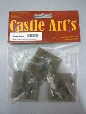 CASTLE ART'S BSRV-4040 - BASETTE IN RESINA EFFETTO ROCCIA VULCANICA 40x40 - 3PZ