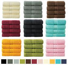 4 Piece Bale Hand Towel Gift Set 100% Plush Cotton Travel Kitchen Bathroom Towel
