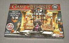 Game of Thrones Iron Throne Room Building Set 19391 McFarlane w King Jorrfrey