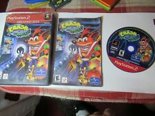 Playstation 2 Crash Bandicoot Wrath of Cortex complete with book & case Tested
