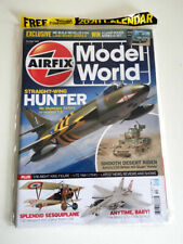 AIRFIX Model World Straight Wing Hunter Free 2020 Calendar (Dec 2019 Issue 109)