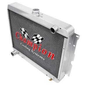 1968 1969 1970 1971 PLYMOUTH GTX 4 Row All Aluminum AR Radiator MC2375