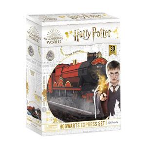 CubicFun Hogwarts Express 181 Piece 3D Jigsaw Puzzle NEW