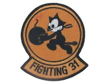 US Army Tomcatter Wildcat vf-31 Felix the Cat Naval Fighting 31 patch écusson
