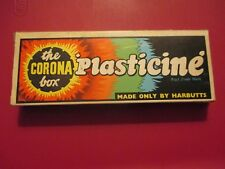 VINTAGE PLASTICINE HARBUTTS THE CORONA BOX