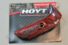 New listing Archery Hoyt Pro Fit Wood Grip **LEFT HANDED**