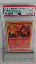 PSA 9 MINT POKEMON CHARIZARD HOLO RARE DETECTIVE PIKACHU SET CARD 5/18!!
