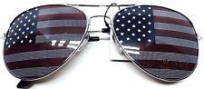American USA Flag UV400 Aviator Sunglasses